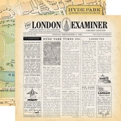 London Examiner Paper - Practically Perfect - Carta Bella - PRE ORDER