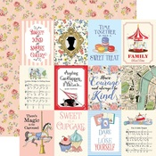 3X4 Jouranling Cards Paper - Practically Perfect - Carta Bella