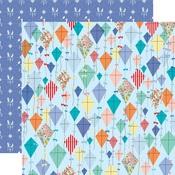 Dancing Kites Paper - Practically Perfect - Carta Bella - PRE ORDER