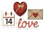 Valentine Sidekick Side-Order Set By Tim Holtz