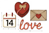 Valentine Sidekick Side-Order Set By Tim Holtz