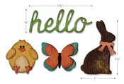 Springtime Sidekick Side-Order Set By Tim Holtz