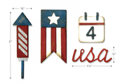 Americana Sidekick Side-Order Set By Tim Holtz