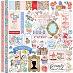 Practically Perfect Sticker Sheet - Carta Bella