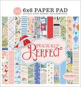 Practically Perfect 6x6 Paper Pad - Carta Bella