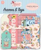 Practically Perfect Frames & Tags Ephemera - Carta Bella