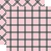 Pink Tattersall Paper - Tartan No 1 - Carta Bella