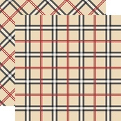 Old English Paper - Tartan No 1 - Carta Bella