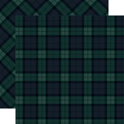 Black Watch Paper - Tartan No 1 - Carta Bella