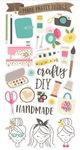 Crafty Girl Chipboard - Simple Stories