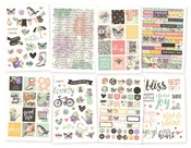 Bliss Stickers Pack - Simple Stories