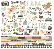 I Am… Combo Sticker Sheet - Simple Stories