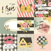 4x4 Elements Paper - I Am... - Simple Stories - PRE ORDER