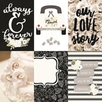 4x6 Vertical Elements Paper - Always & Forever - Simple Stories