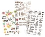 I Am… Clear Stickers - Simple Stories