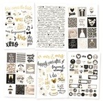 Always & Forever Stickers - Simple Stories