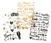 Always & Forever Clear Stickers - Simple Stories - PRE ORDER