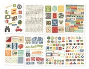 Travel Notes Stickers - Simple Stories