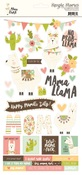Mama Llama Sticker Sheet - Simple Stories Simple Set