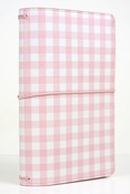 Pink Gingham Travelers Notebook - Echo Park - PRE ORDER
