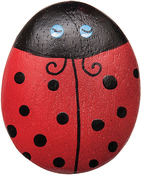 Ladybug - Paradise Wood Needle Keeper