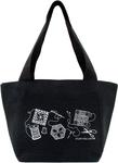 """Black - K1C2 Quilt Happy Petite Project Bag 13""""X8""""X5"""""""