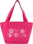 Hot Pink - K1C2 Quilt Happy Petite Project Bag