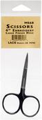 "Black - Lacis Embroidery Scissors 4"""