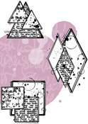 Les Geometriks #1 - Carabelle Studio Cling Stamp A6 By Ana Bondu