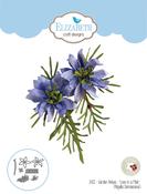 Love In A Mist - Elizabeth Craft Metal Die By Susan's Garden Club