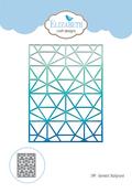 Geometric Background - Elizabeth Craft Metal Die
