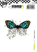 Butterfly Origami - Carabelle Studio Cling Stamp A7
