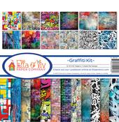 """Graffiti, 12 Designs/1 Each - Ella & Viv Collection Kit 12""""X12"""""""