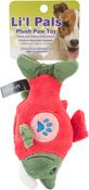 Salmon - Li'l Pals Paw Plush Dog Toy