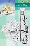"""Restful - Penny Black Cling Stamps 5""""X7"""""""