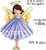 Annie Is An Angel - Stamping Bella Cling Stamps
