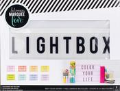 "Multi-Colored - Heidi Swapp Lightbox 10""X13""X2"""