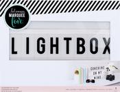 "Pink - Heidi Swapp Lightbox 10""X13""X2"""