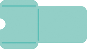 "Mini Card Pocket 6""X3.25"" - Kaisercraft Decorative Die"
