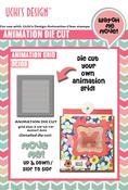 "Animation Grid 2.375""X2.875"" - Uchi's Animation Die"