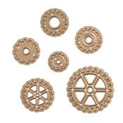 """Gears .6"""" To 1.4"""" - Spellbinders Shapeabilities Die D-Lites"""