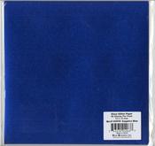"""Sapphire Blue - Gloss Glitter Paper 12""""X12"""""""