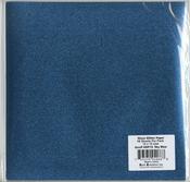 "Sky Blue - Gloss Glitter Paper 12""X12"""