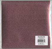 "Pink - Gloss Glitter Paper 12""X12"""