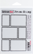 "Mixed Boxes - Darkroom Door Cling Stamp 4.5""X3"""