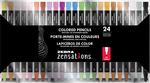 Assorted - Zebra Zensations Colored Pencils 24/Pkg