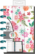 "Happy Mind Happy Life - Happy Planner 12-Month Undated Mini Planner 5.125""X7.5"""