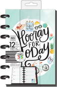 "Everday Essential - Happy Planner 12-Month Undated Mini Planner 5.125""X7.5"""
