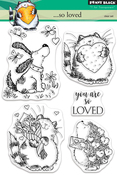 """...So Loved - Penny Black Clear Stamps 5""""X7"""""""