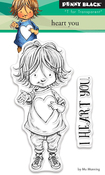"""Heart You - Penny Black Clear Stamps 3""""X4"""""""